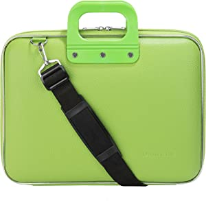 Green Laptop Messenger Bag Carrying Case for Lenovo Flex, IdeaPad, Legion, ThinkPad, Yoga 15.6""