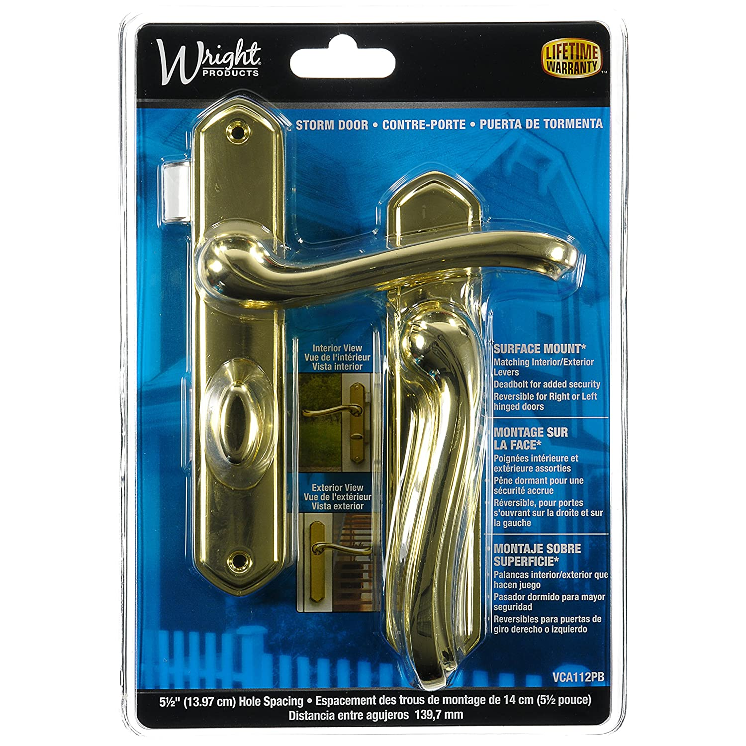 Wright Products VCA112PB CASTELLAN Style SURFACE LATCH, BRASS   Cabinet And  Furniture Drawer Slides   Amazon.com