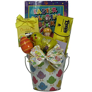 Amazon easter bucket of fun toddler easter basket 18 to 30 easter bucket of fun toddler easter basket 18 to 30 months old negle Gallery