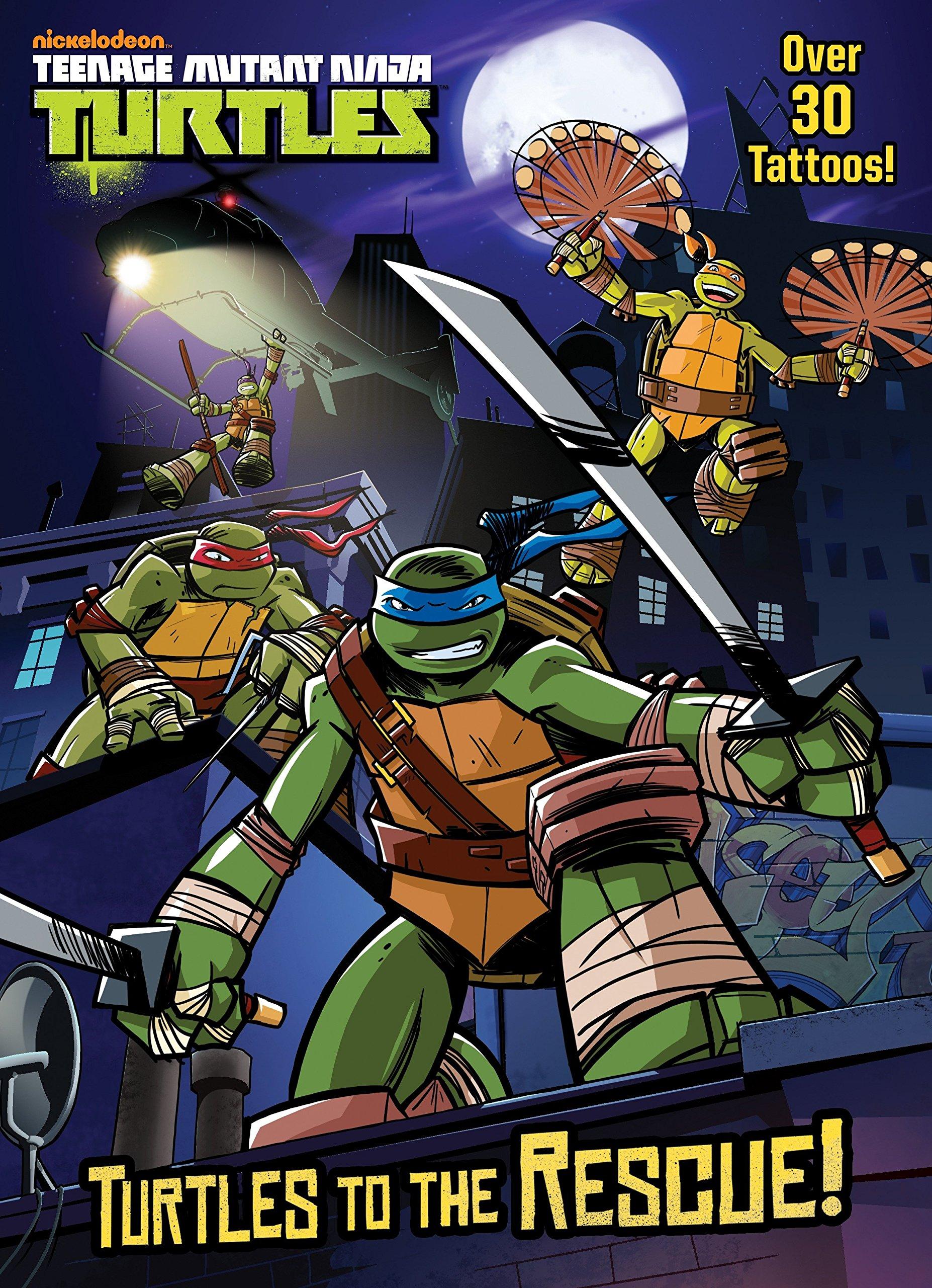 Turtles to the Rescue! (Teenage Mutant Ninja Turtles ...