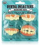 NPW fausses dents prestige Dental Disasters (lot de 4)