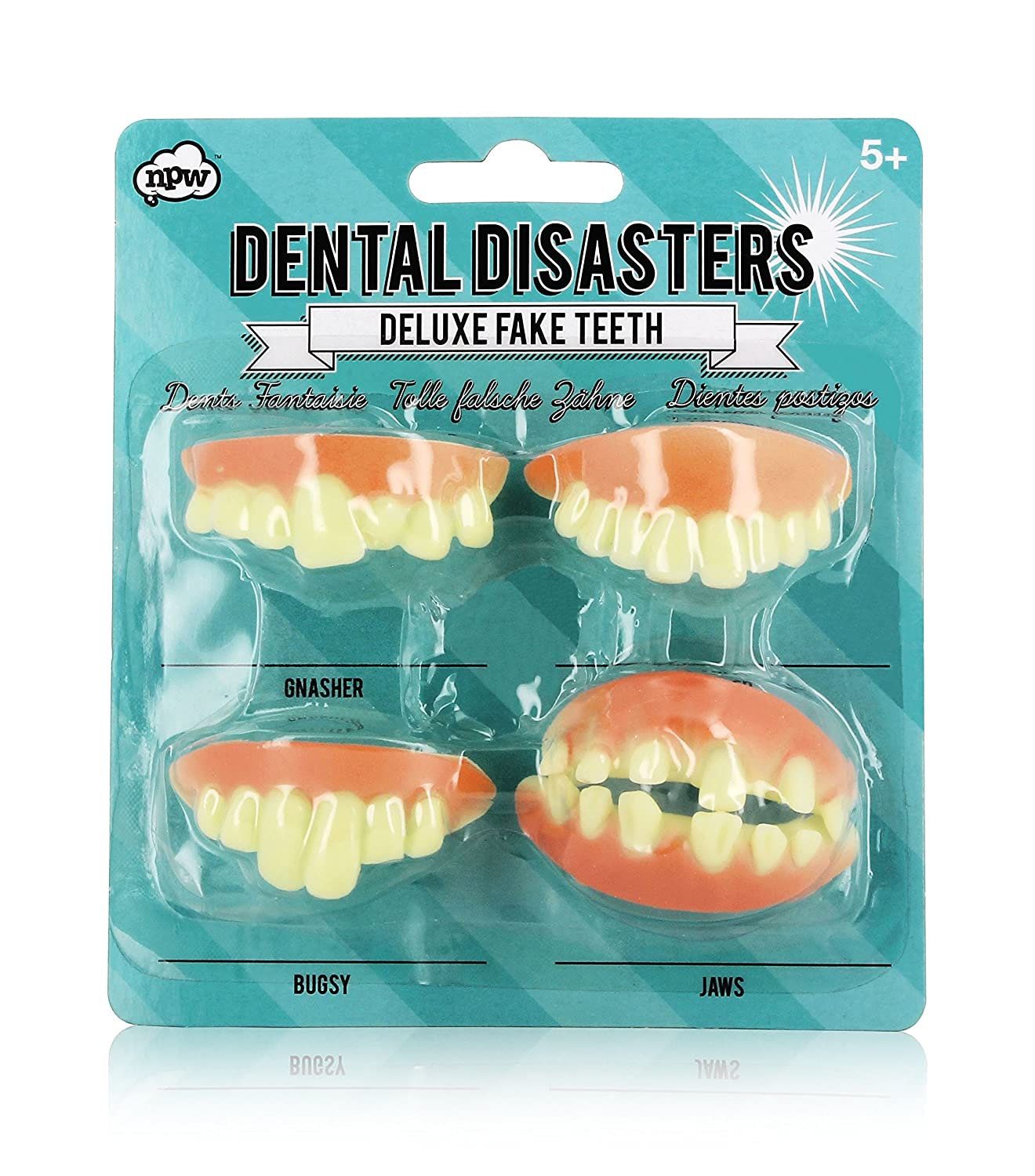 NPW-USA W7299 Dental Disasters Fake Teeth, Dental Disasters