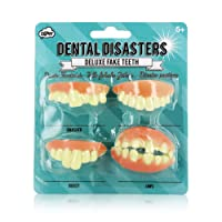 NPW fausses dents prestige Dental Disasters (lot de 4)