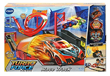 Amazon.com: VTech Turbo Force Racers pista de carreras: Toys ...