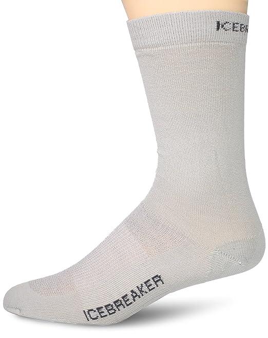 Ice Breaker Mens Hike Liner Crew Socks