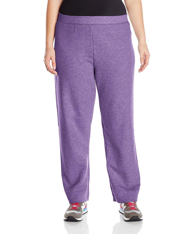 5ef57b7cb9b Just My Size Women`s ComfortSoft EcoSmart Fleece Open-Hem Sweatpants, Avg  Length: Amazon.co.uk: Clothing