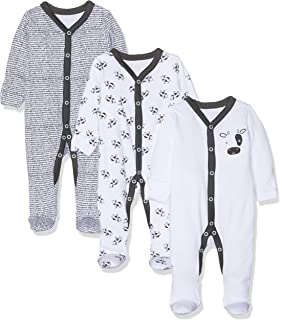 Mothercare Baby M/ädchen Formender Body Heart Sleepsuits 3 Pack
