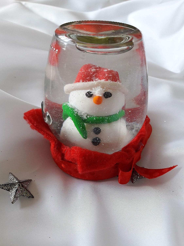 Christmas Gifts Handmade.Amazon Com Snow Globe Handmade Christmas Decoration