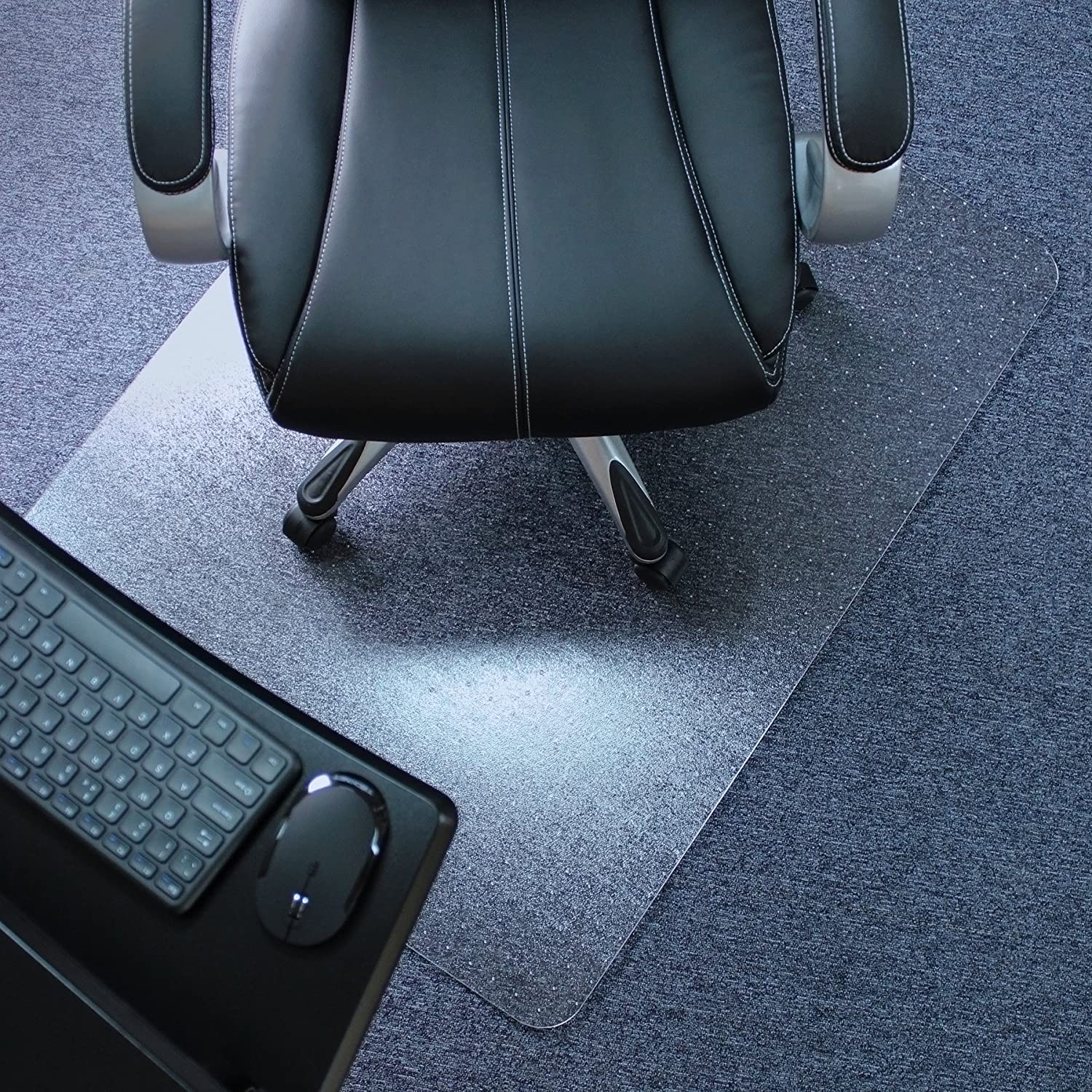 Rectangular Chair Mat for Low, Standard and Medium Pile Carpets