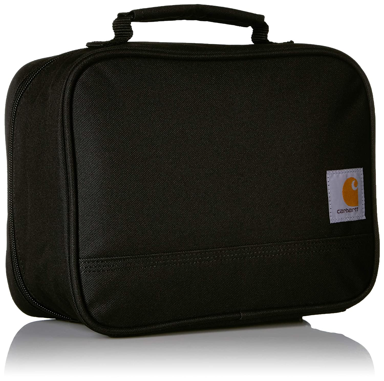 601e53f51a60 Carhartt Insulated Soft-Sided Lunchbox, Black