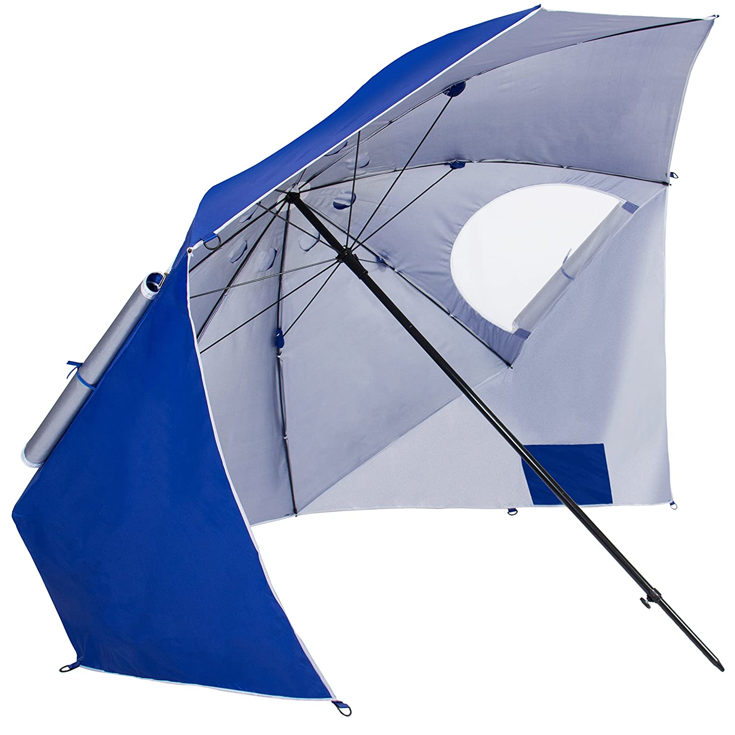 Amazon.com Best Choice Products Beach Portable Sun Umbrella Shelter Park Canopy Tent W/ Ground Nails Ropes u0026 Carrying Case Sports u0026 Outdoors  sc 1 st  Amazon.com & Amazon.com: Best Choice Products Beach Portable Sun Umbrella ...