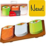 Novelty Fun Sticky Notes Notepad Memo Note Pad School Office Colleague Gift - Sushi