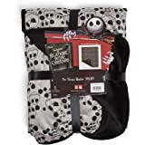 """Disney Nightmare Before Christmas Jack Skellington Expressions Luxury Multi-Functional Pet Throw Blanket / Portable, Dog Mat / Cat Mat, 30""""x40"""", Collector's Edition"""
