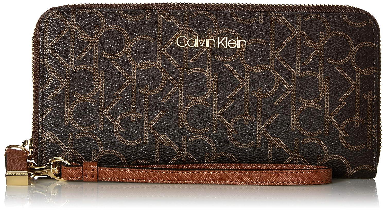 Amazon.com: Calvin Klein - Monedero grande con cremallera ...