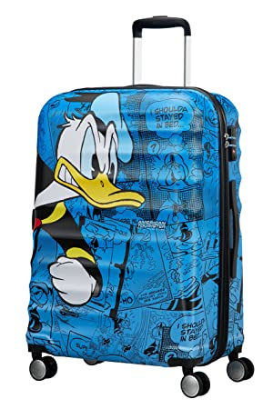 Disney Disney Wavebreaker - Spinner 67/24 Equipaje de Mano, 67 cm, 64 Liters, (Donald Duck): Amazon.es: Equipaje