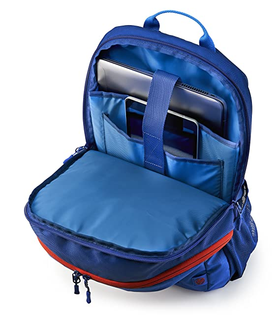 00c21f3051 Amazon.com  HP 15-inch Laptop Sport Backpack (Blue Red) (1MR61AA)   Computers   Accessories