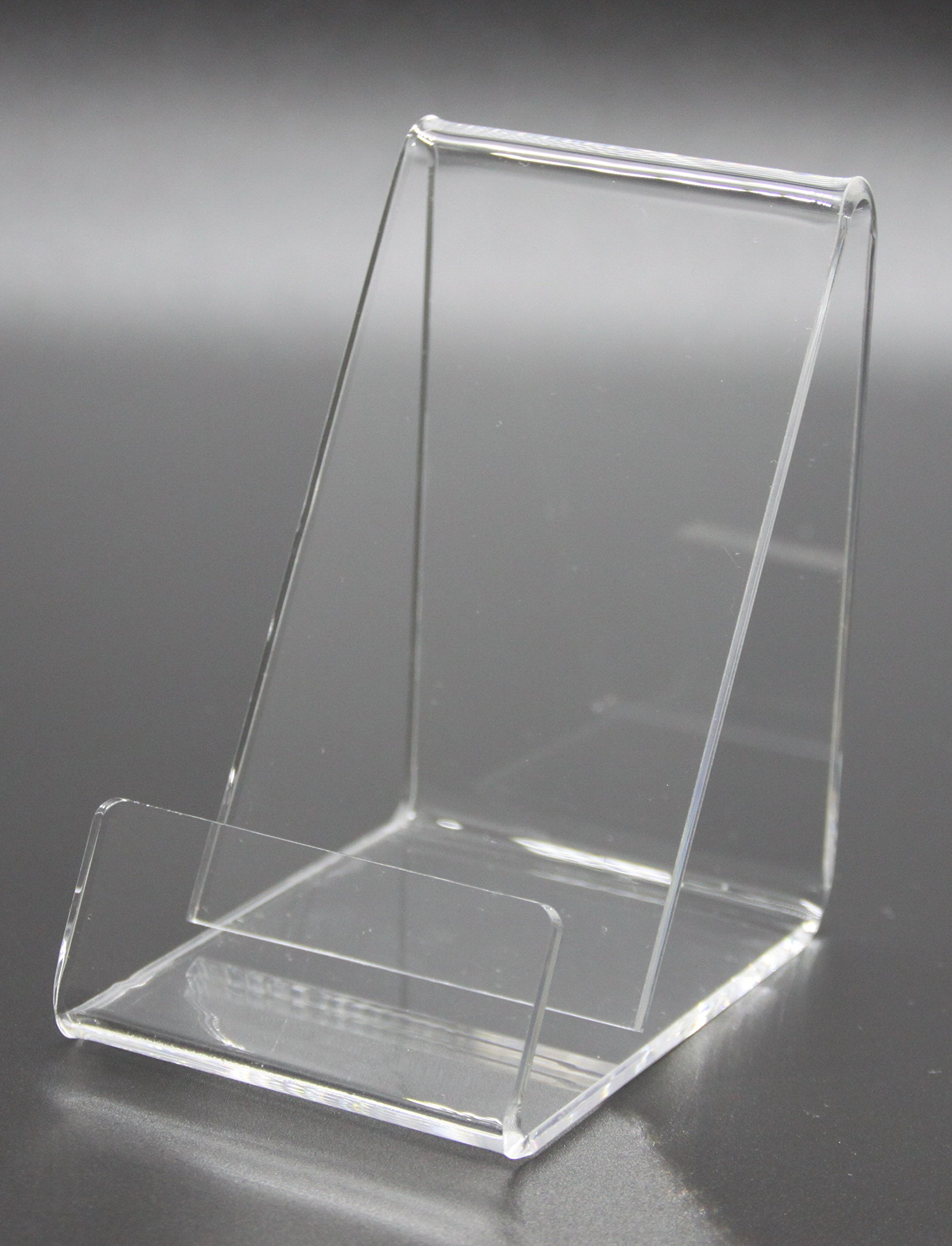 FixtureDisplays Business Card Size Clear Easel Acrylic 4 Cellphone Wallet 20008-E-NF by FixtureDisplays (Image #6)