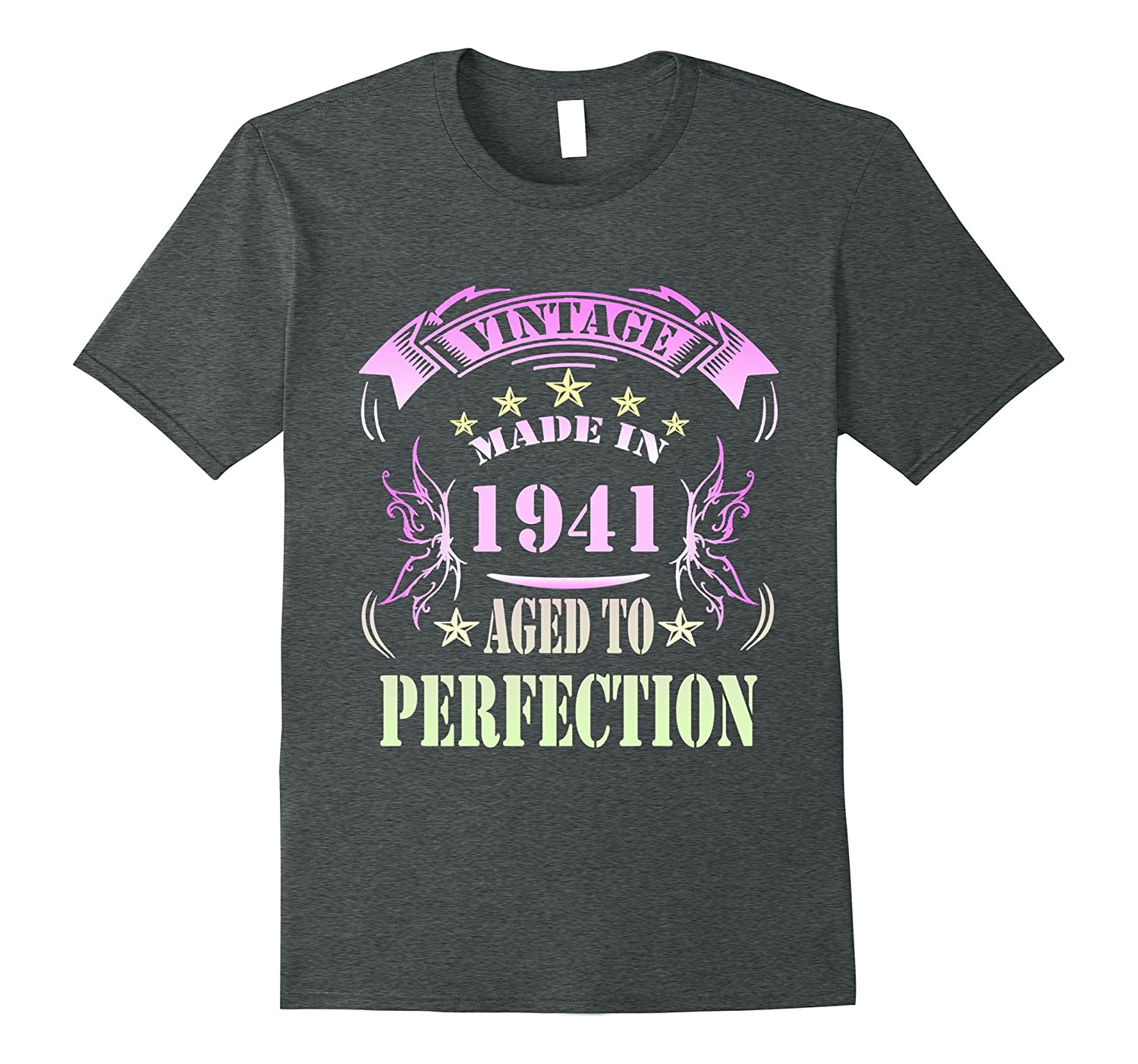 76 Birthday Vintage Made in 1941 Gift ideas Man T shirt-PL