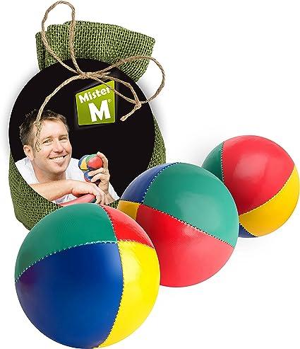 Set of 3 Large Juggling Scarves Beginner Juggling Scarfs Ball Alternative