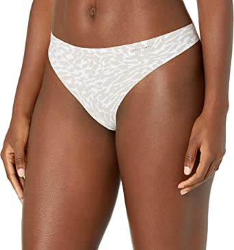 Calvin Klein Women's Invisibles Line Thong-Panty