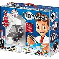 Buki France-50 Experimentos Microscopio, Multicolor (MR600)