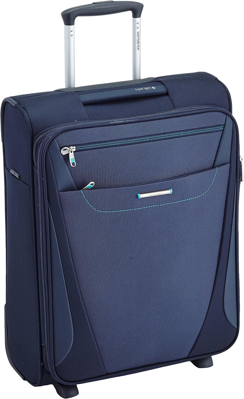 Samsonite All Direxions Upright 55/20 Exp Maletas y trolleys, 55 cm, 42 L, Azul (Azul)