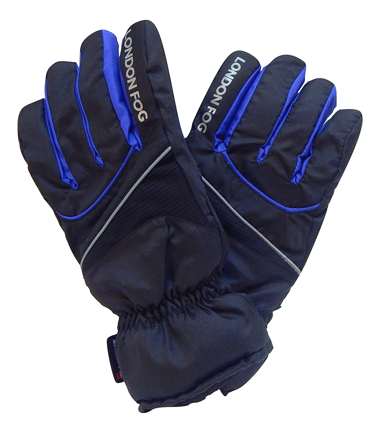 London Fog Youth Ski Gloves Thinsulate Lined Waterproof Ski Gloves for Girls and Boys