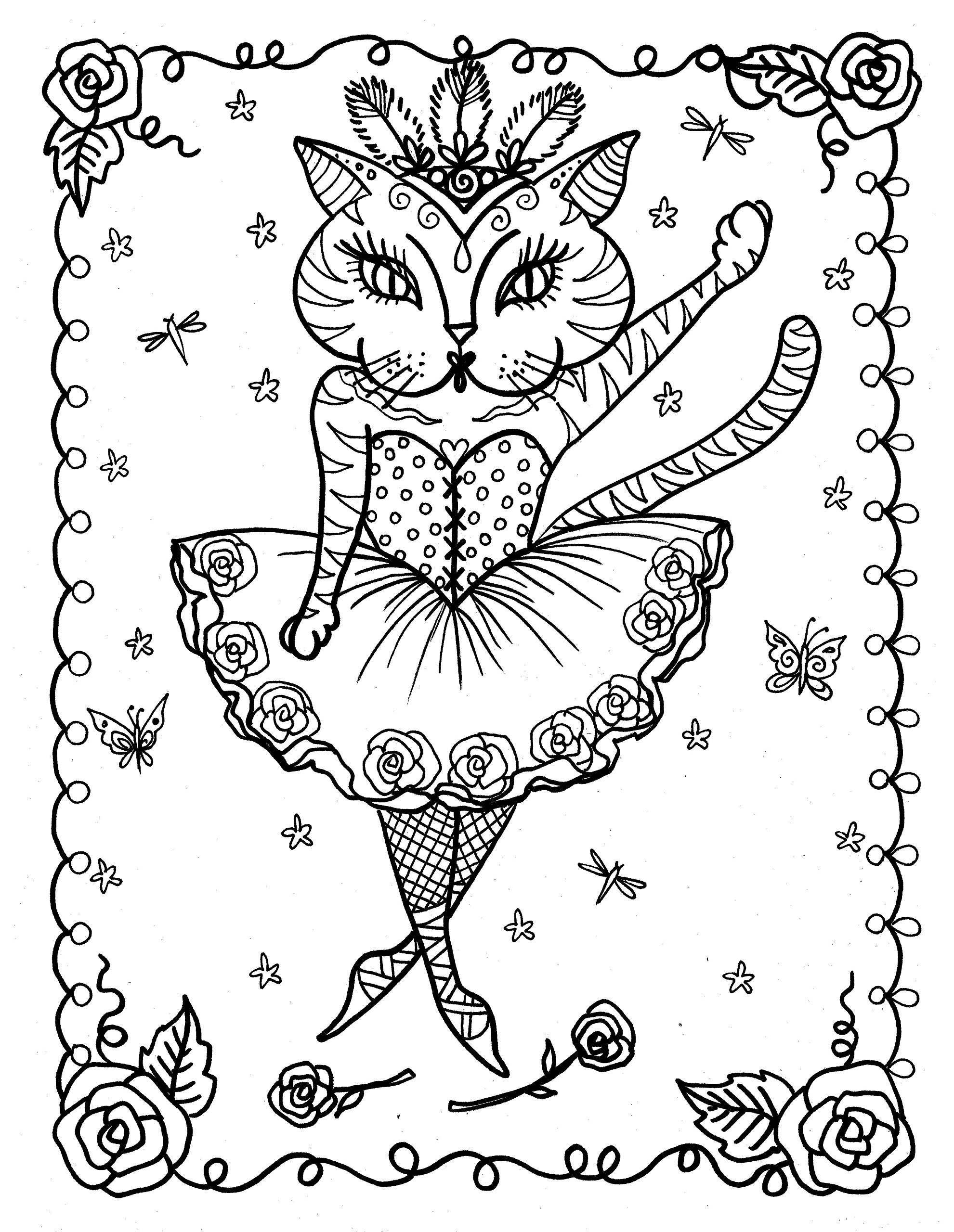 A fun magic coloring book amazon - A Fun Magic Coloring Book Amazon Fantasy Cats A Magical Adventure Of Fun And Crazy