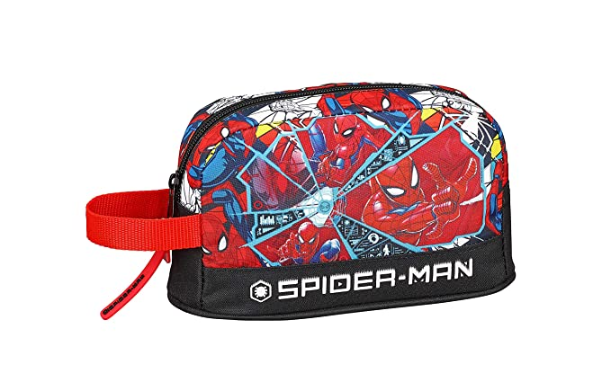 "Spiderman ""Super Hero"" Oficial Porta desayunos Termo Térmica, 215x65x120mm"