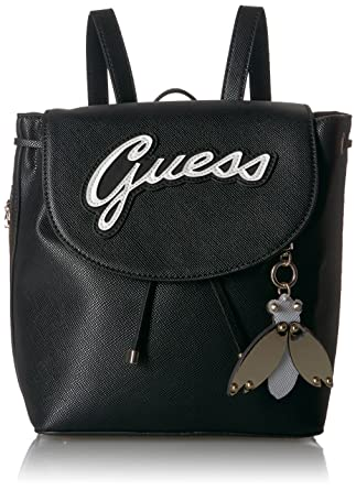 ffb85a9096 Amazon.com  GUESS Varsity Pop-Pin up Backpack