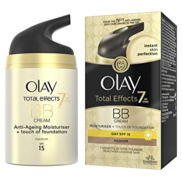 Image result for Olay Total Effects 7in1 Touch of Foundation BB Moisturiser