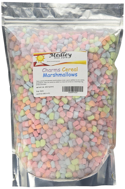 Amazon Com Medley Hills Farm Cereal Marshmallows 1 Lb Grocery Gourmet Food