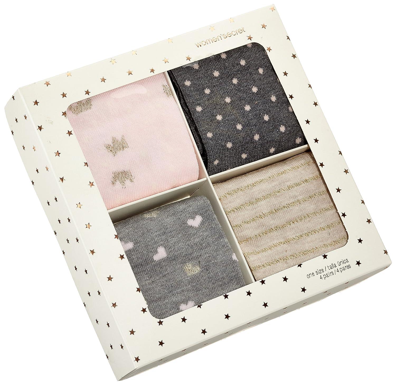 Womensecret 4482506, Calcetines para Mujer, Varios colores, One Size (Tamaño del Fabricante:U): Amazon.es: Ropa y accesorios