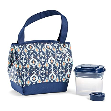 Amazon.com: Fit & Fresh Hyannis - Bolsa de almuerzo con ...