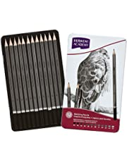 DERWENT(R) 2301946F ACADEMY SKETCHING PENCILS, TIN 12