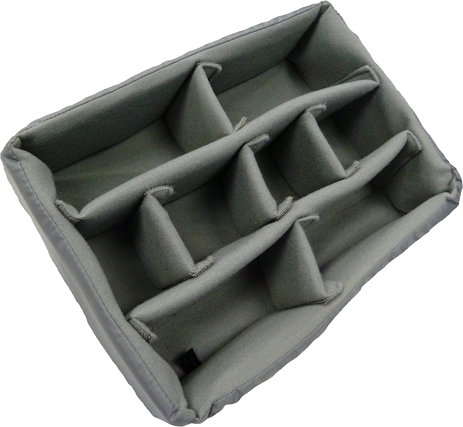 Dividers and lid Foam. CVPKG Grey Padded Divider Set to fit Pelican 1500