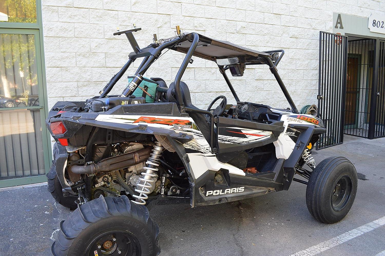 Polaris RZR 1000 Turbo XP XPT 4 Rueda de repuesto Carrier para pantalla plana: Amazon.es: Coche y moto
