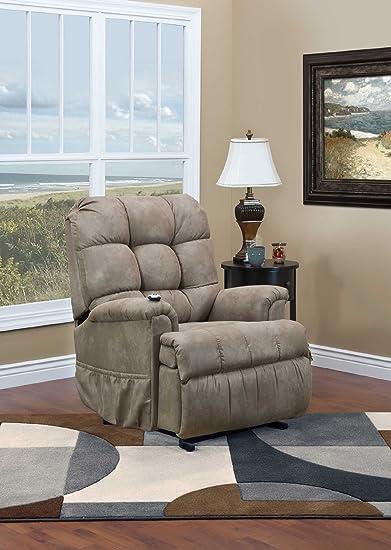 amazon com med lift 5500 wall a way 3 way reclining lift chair
