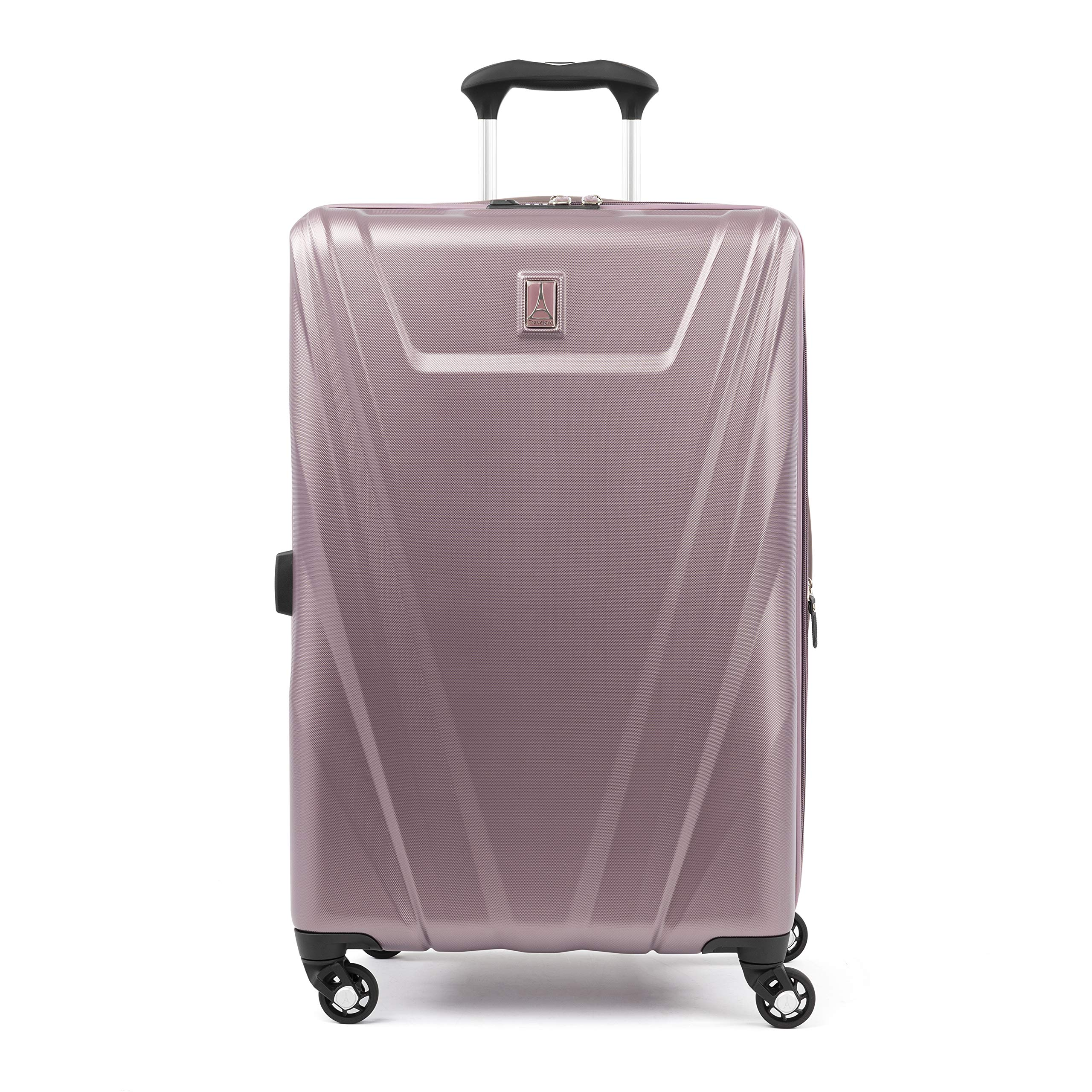 Travelpro Expandable Checked-Medium, Dusty Rose by Travelpro