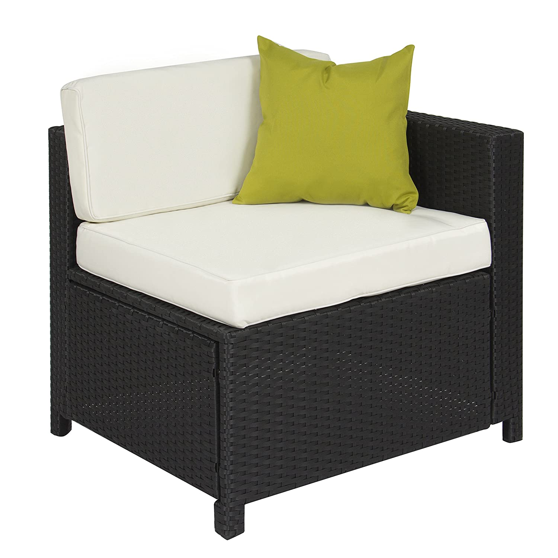 Amazon 5PC Rattan Wicker Aluminum Frame Sofa Set Cushioned