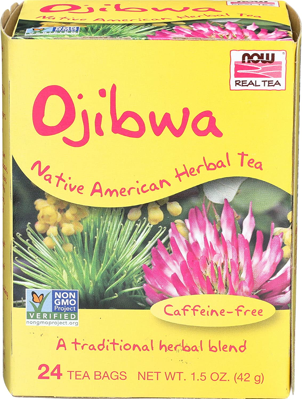 NOW Foods Real Tea Ojibwa Native American Herbal Tea -- 24 Tea Bags