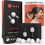 Vibes High Fidelity Earplugs - Invisible Ear Plugs for Concerts, Musicians, Motorcycles, Airplanes, Raves, Work Noise Reducti