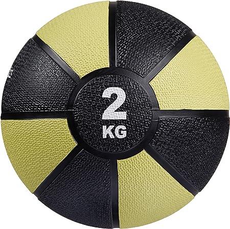 AmazonBasics - Balón medicinal, 2 kg: Amazon.es: Deportes y aire libre