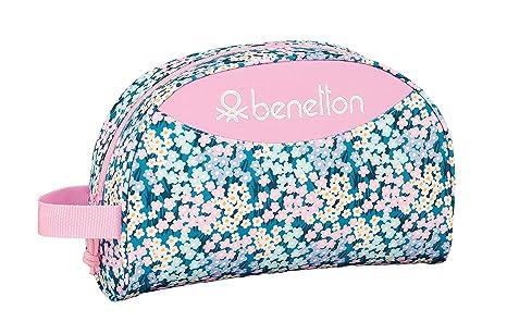 """Benetton """"Garden"""" Oficial Mochila Escolar Infantil Pequeño Con Asa 280x100x180mm"""