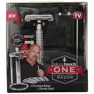 Micro Touch Safety Razor Chrome