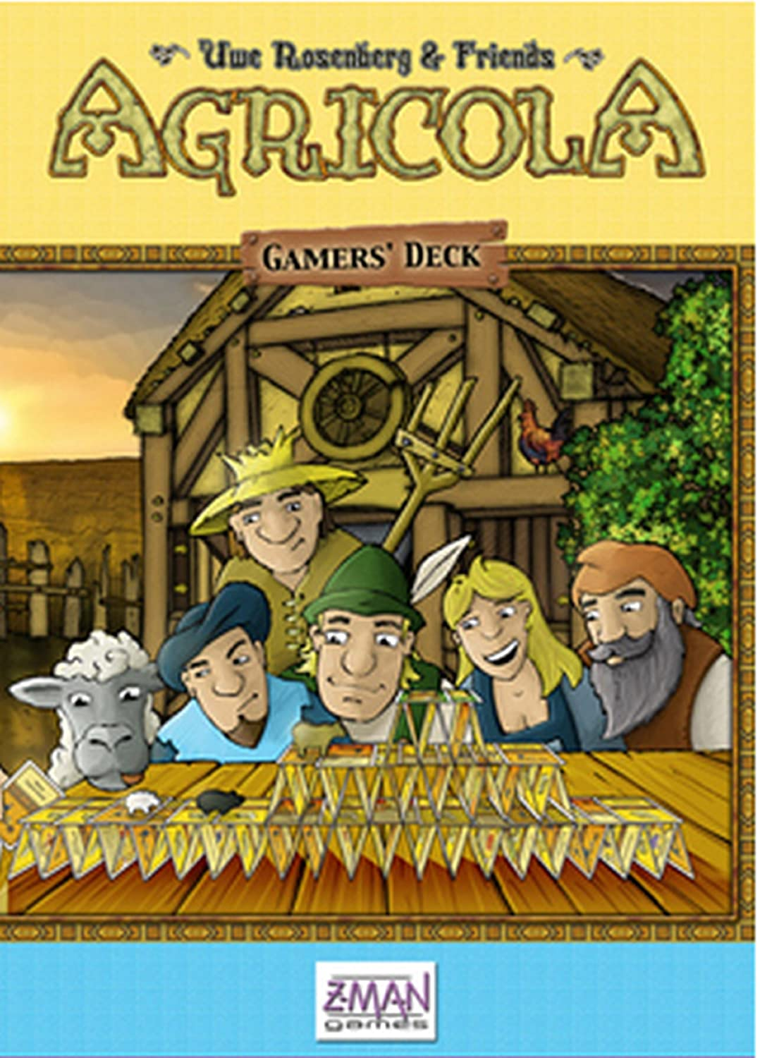 Z-Man Games - Agricola Gamer Deck Expansion: Amazon.es: Juguetes y ...