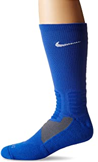 Nike Hyper Elite Cushioned Basketball Crew Socks (Large)