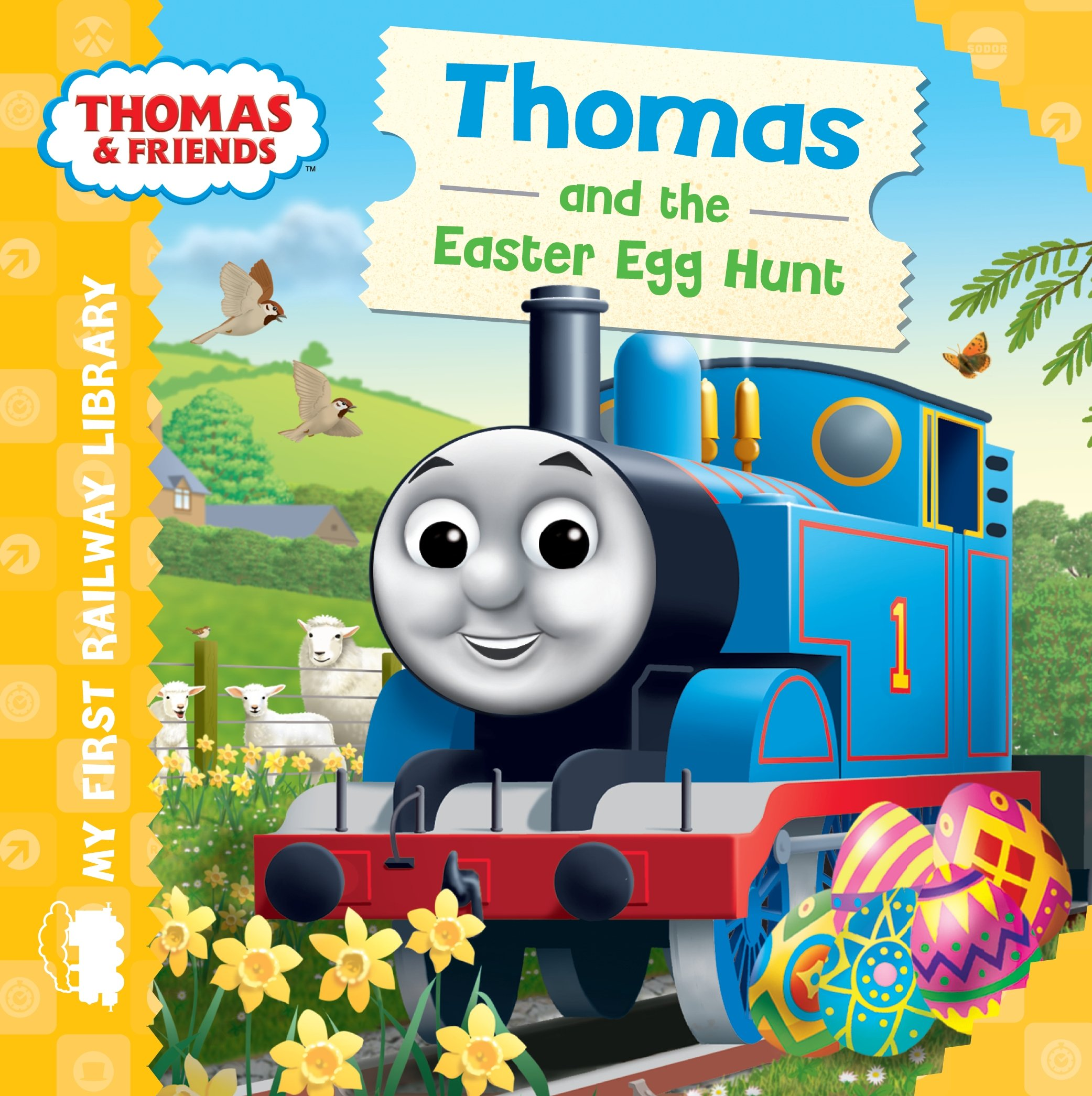 thomas friends my first railway library thomas and the easter