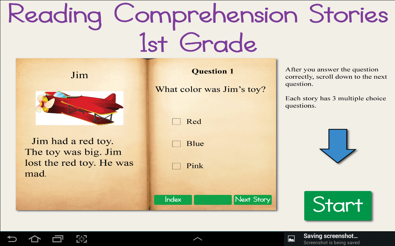 - Amazon.com: Reading Comprehension Stories 1st Grade: Appstore For