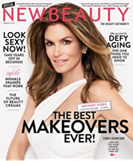 New Beauty Magazine (Winter Spring 2017) Cindy Crawford Cover